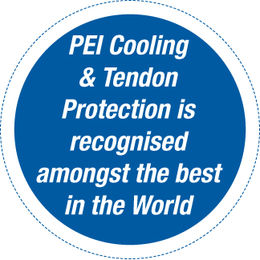PEI Cooling & Tendon Protection