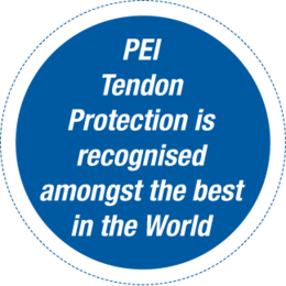 PEI Tendon Protection